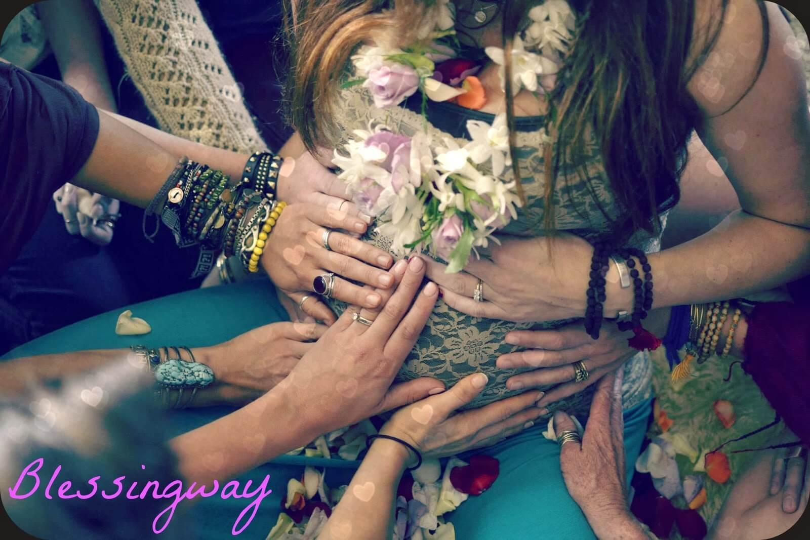 blogue agatha, le Blessing Way : Un baby shower qui n'en est pas un!, bénédiction