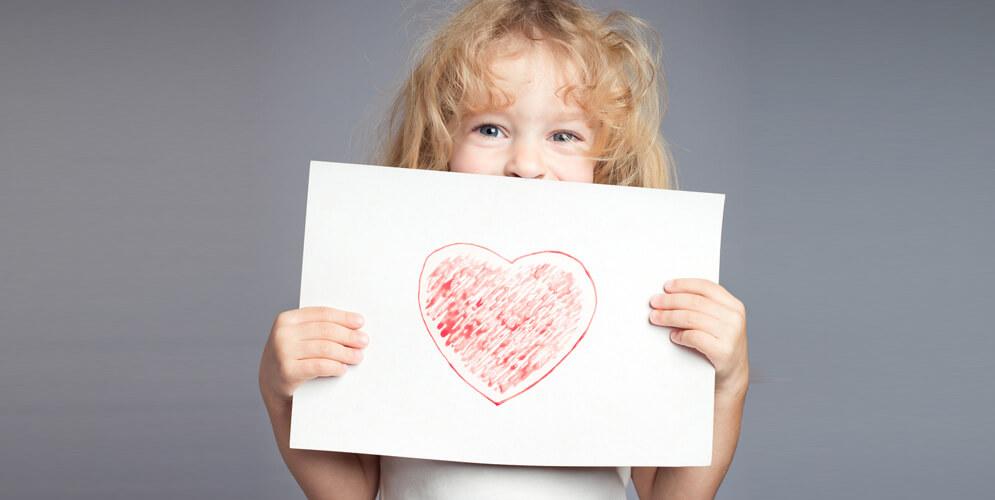 blogue agatha, bricolage fête des mères, dessin coeur rouge