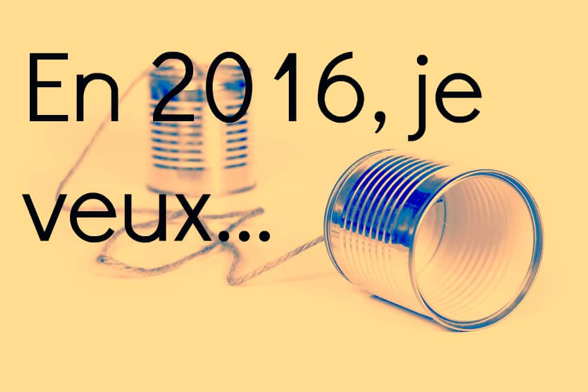 Résolutions 2016