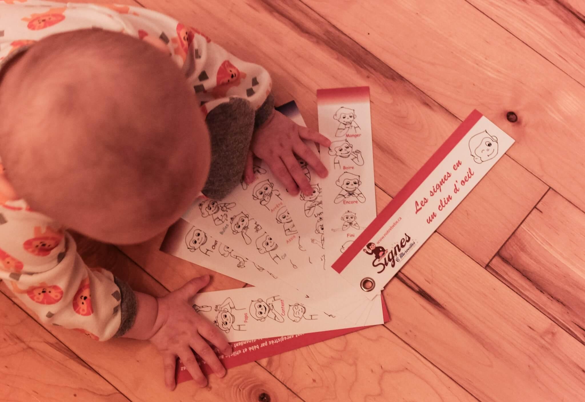 blogue agatha, le langage des signes pour bébé : mon poupon me parle !, discussion parent bébé